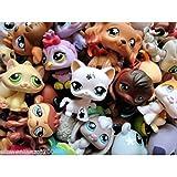 #6: Littlest Pet Shop Lps Lot Random Surprise Gift Grab Bag 7 Pets Dog Cat Mixed Euc