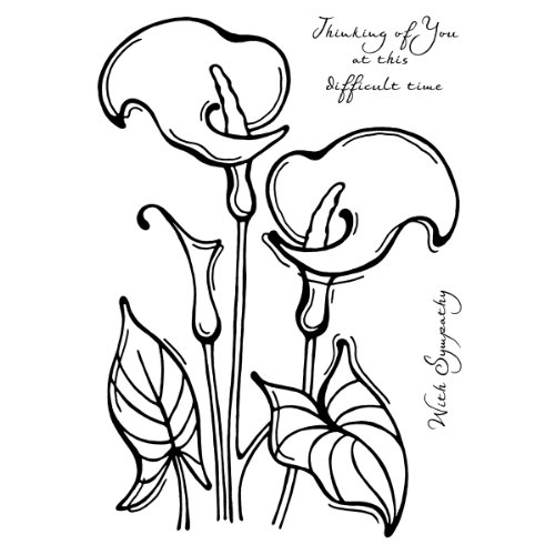 woodware-clear-stamps-35x55-calla-lily