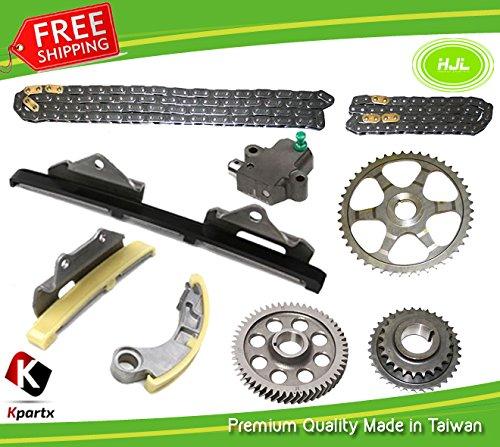 Für H-O-N-D-A CRV Civic 2.2 CTDi n22 a1 N22 a2 Steuerkette Kit w/gears + Öl Pumpe Kette