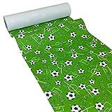 JUNOPAX 47930827 Rouleau de chemin de table en papier Motif ballons de football 50 x 0,40m