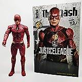 CHENF Justice League Die Flash-Figur, Modellfigur mit beweglichen Gliedmaßen, Höhe 32cm -