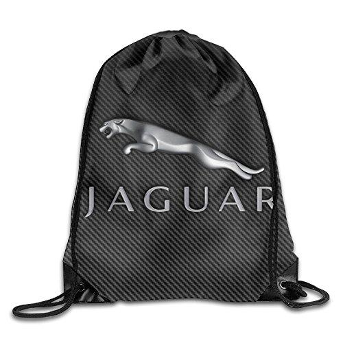 canace-best-jaguar-logo-sports-dexterieur-avec-cordon-sacs-sac-a-dos-blanc-taille-unique