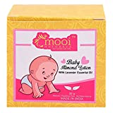 #9: Mooi Naturals BABY ALMOND LOTION - WITH LAVENDER ESSENTIAL OIL, 30G