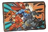 Designs Set de table avec flash, Superman et Batman carte graphique, sans BPA, plastique