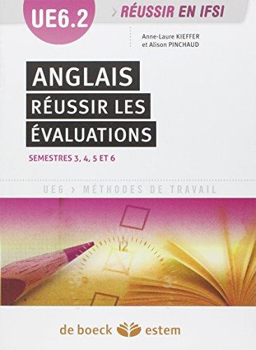 Anglais : Réussir les évaluations (UE 6.2)