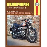 Triumph Trident and Bsa Rocket 3 Owners Workshop Manual, No. 136: (Triumph Rocket)