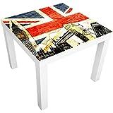 Vinilo adhesivo para muebles IKEA - Lack table This is London!, Tamaño:55cm x 55cm