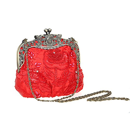 HT  Party Clutch, Damen Clutch Rot