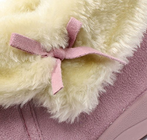 Dunlop, Pantofole donna Rosa (Polvere rosa)