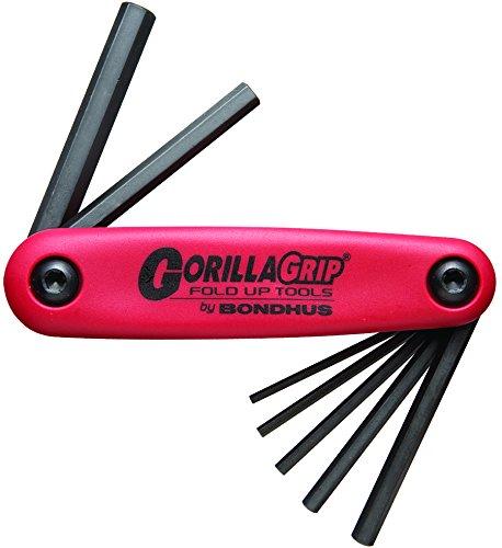Starrett GorillaGrip Schlüssel-Set, poliert, metrisch, 12587 (Bondhus Gorilla Grip)