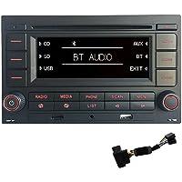 Autoradio RCN210 Bluetooth Lecteur CD, USB, MP3, port auxiliaire, Pour Golf MK4, Old polo, Passat B5.