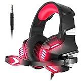 VersionTECH. Auriculares Gaming Cascos PS4 con Micrófono Plegable,...