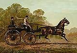 Fine Art Print–Columbine, 1900von Bentley Global Arts Gruppe, Papier, multi, 8 x 6