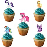 Party PROPZ My Little Pony Cup Cake Topper Set Of 14/ My Little Pony Party Supplies/ My Little Pony Party Decoration