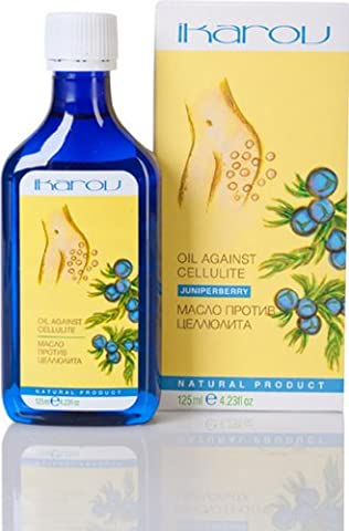 ANTI-CELLULITE MASSAGE OIL 'JUNIPERBERRY' IKAROV MASSAGE OIL AGAINST CELLULITE AND SURPLUS WEIGHT