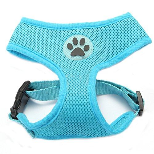 BbearT Hundegeschirr, atmungsaktiver Netzstoff, weich, für Hund/Welpe, verstellbar