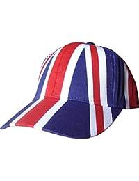 Adults Unisex Great Britain Union Jack Flag Summer Baseball Cap
