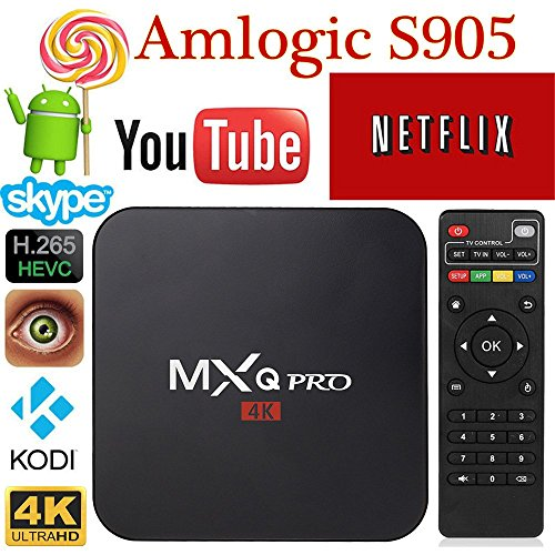 MXQ Pro Amlogic S905 Quad Core 64-bit ARM Cortex-A53 2 0GHz Android