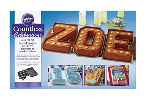 Hochzeit Jahrestag Zuckerguss Creme Number cake Backform Set f/ür Zahlen Backformen Kuchenformen mit T/üllen und Spritzbeutel Obstkuchen Geburtstag YFWUQI Backform Zahlen 0-9