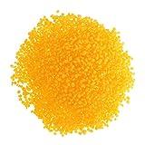 Baoblaze 500g Bienenwachs Pastillen Bio Möbelwachs Kerzenwachs Kosmetik - Gelb, 500g