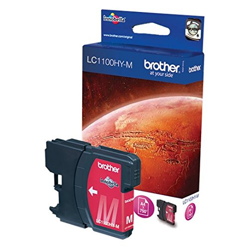 Brother LC-1100HYM Cartouche d'encre d'origine 1 x rouge 750 pages