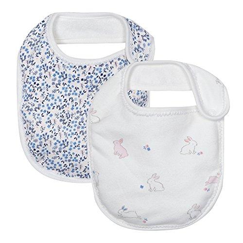 j-by-jasper-conran-kids-baby-girls-confezione-da-due-bianco-stampa-bavaglini