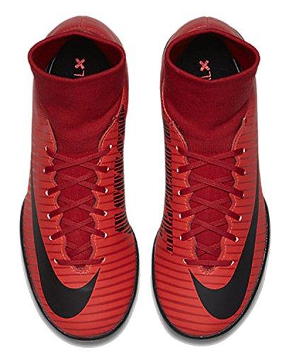 Nike Mercurialx Victory VI Dynamic Fit IC, Chaussures de Football Homme Rouge (Rouge université/Cramoisi brillant/Noir 616)