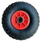 LY Tools Lot de 2 Roues pneumatiques de 25,4 cm avec alésage de 16 mm pour Diable 4.10-4