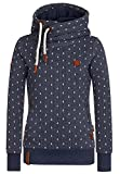 Naketano Female Hoody Darth Ankerdizzel Indigo Blue Melange, XL
