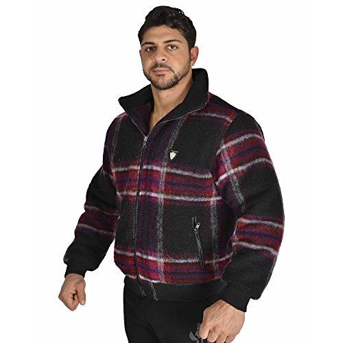 BIG SM EXTREME SPORTSWEAR Herren Jacke Bomberjacke Sweatshirt Jacke 4064-L