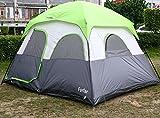 Forfar Zelt Kuppelzelte Campingzelt Familienzelt für 5 Personen,wasserdicht und winddicht(340*280*210cm)