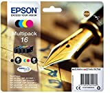 Epson C13T16264012 16 Series Multi Pack Ink Cartridges - Black/ Cyan/ Magenta/ Yellow