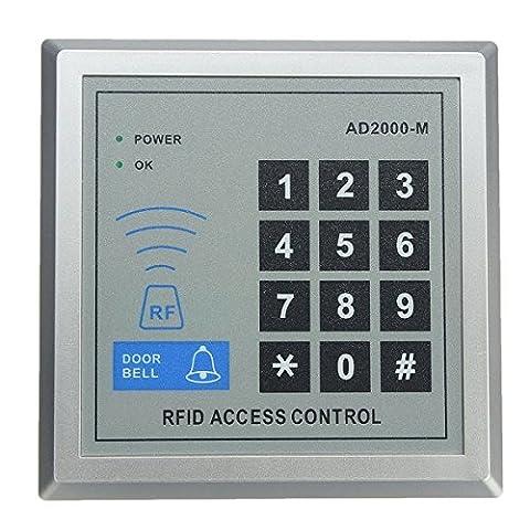mark8shop de sécurité Contrôle d'accès RFID Proximité Entrée Serrure de porte Système 10clés