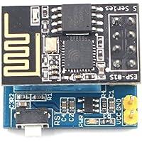 TOOGOO ESP8266 ESP-01S serie Transceptor inalambrico + Monitor de humedad de temperatura DHT11 Sensor de escudo Tarjeta de adaptador de modulo Wifi