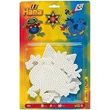 Hama 4555 - Blisterpackung große Stiftplatten, Frosch, Stern, Drache, 3 Stück