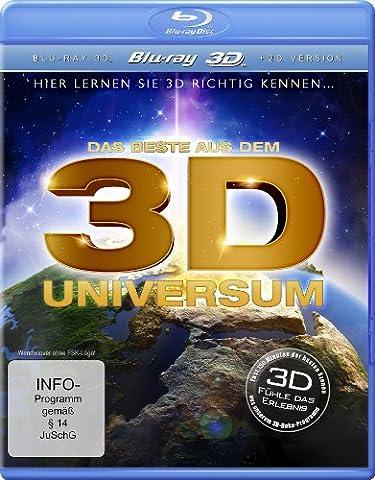Das Beste aus dem 3D Universum - Hier lernen Sie 3D richtig kennen... [3D Blu-ray] (Beste 3d Blue Ray Filme)
