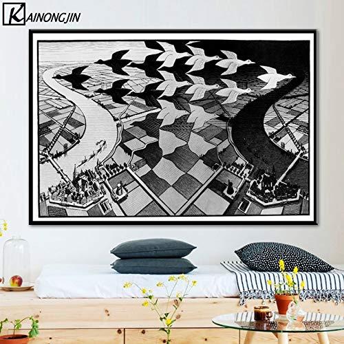 Kein Rahmen Poster Escher Surreal Geometrische Poster
