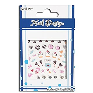 Sweet Candy Nail Art Sticker