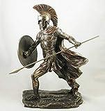 Talon d'Achille de Grec Ancien Guerrier Bronze Sculpture Statue Figurine Décoration