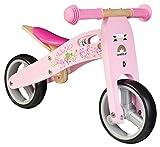 BIKESTAR® Frühstarter Kinderlaufrad für freche Zwerge ab ca. 18 Monaten ★ 7er Natur Holz...