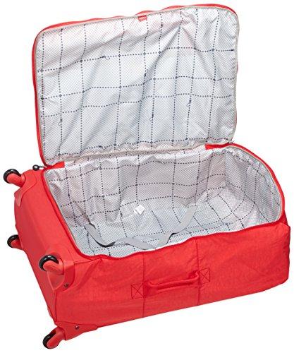 Kipling - K1537310P - Valise pour Ordinateur à roulettes Darcey L, 89 L, Rouge (Cardinal Red) Cardinal Red