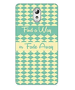 Happoz Lenovo Vibe P1 Cases Back Cover Mobile Pouches Shell Hard Plastic Graphic Armour Premium Printed Designer Cartoon Girl 3D Funky Fancy Slim Graffiti Imported Cute Colurful Stylish Boys D207