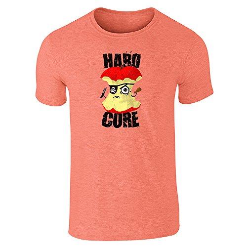 Pop Threads Herren T-Shirt Gr. Medium, Orange (Heather Orange)