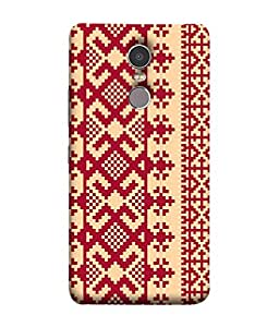 PrintVisa Designer Back Case Cover for Lenovo K6 Note (Jeep Girl Vintage Jeep Simply Girly Designer Case White color Zig zag pattern Cell Cover Best cool Smartphone Cover Lovely design perfect for girls )