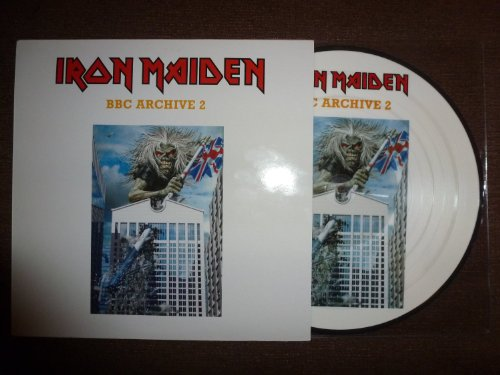 BBC ARCHIVE 2.PICTURE DISC.LIVE 80/82.9 TITRES. (Iron Maiden Picture Disc Vinyl)