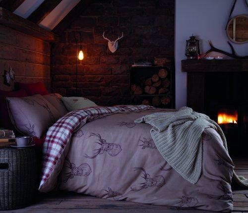 catherine-lansfield-bettwasche-set-hirsch-design-stag-size-bfur-doppelbetten-multi-einzelbett