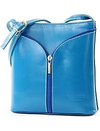 ModaModa de–Italiana. Piel Mujer Bolso de mano bolsa de hombro Girl Kleine Bandolera D19