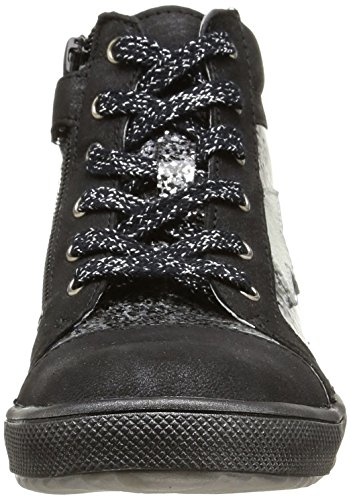 Ramdam Kamakura, Mädchen Hohe Sneakers Schwarz (vts Noir/argent Dpf/428)