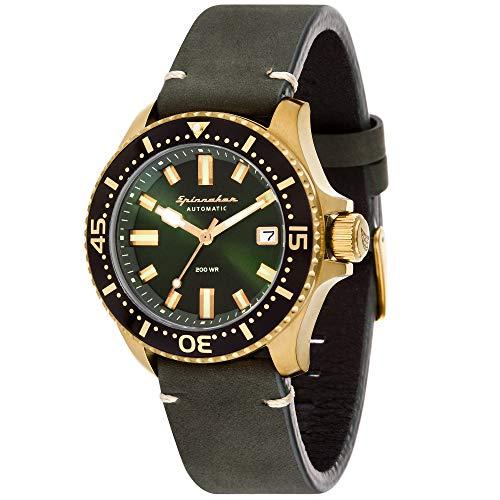 Spinnaker Homme Uhr Analogique QUARTZ mit Métal Armband SP-5039-06