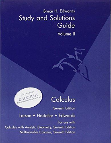 Multivar Cal Study Guide: 2